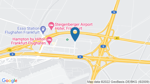 Hyatt Place Frankfurt Airport Map