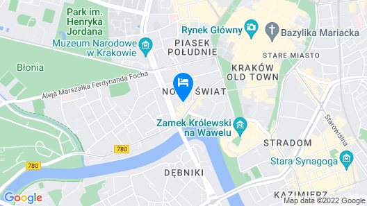Bachleda Luxury Hotel Krakow - MGallery Map