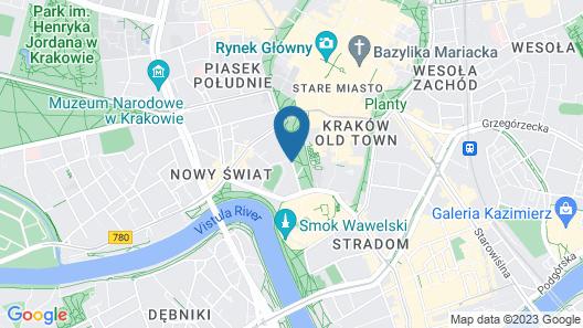 Hotel Wawel Queen Map