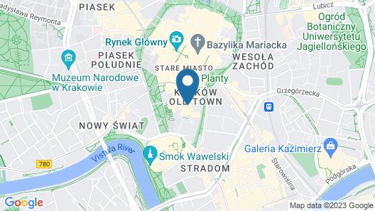Balthazar Design Hotel Map