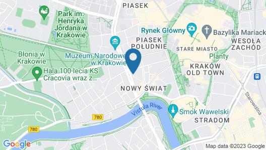 Metropolis Design Hotel Map