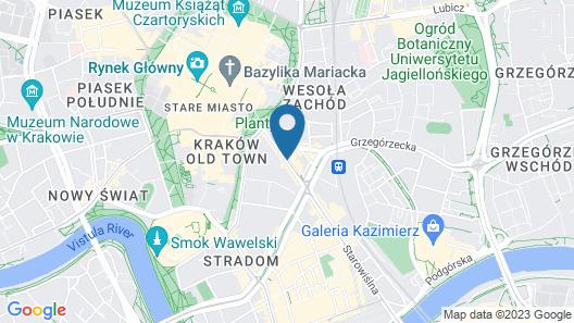 Platinia Apartments Map