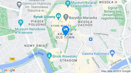 Hotel Wawel Map