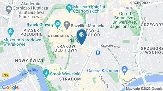 Hotel Wielopole Map