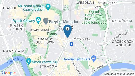 Apartment Bonerowska 5 Map