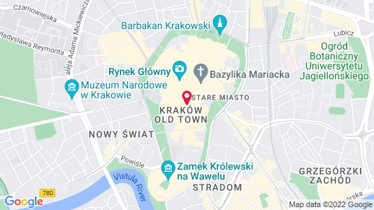 Krakow For You Map