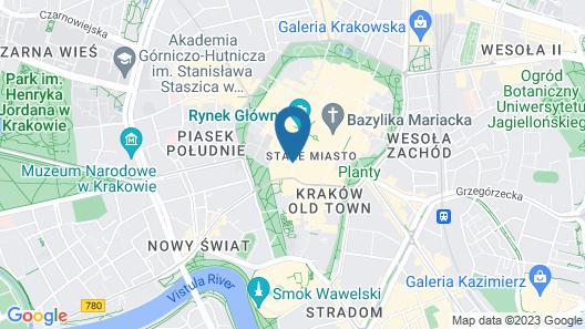 Aparthotel Stare Miasto Map
