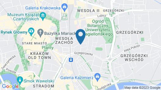 Hotel Batory Map
