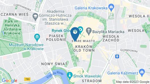 Gołębia 8 Residence Map