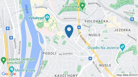 Holiday Inn Prague Congress Centre, an IHG Hotel Map