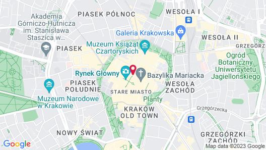 Bonerowski Palace Map