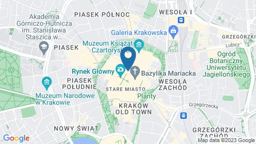 Feniks fragola Apartments Map