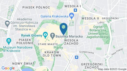 Amber Design Residence Map