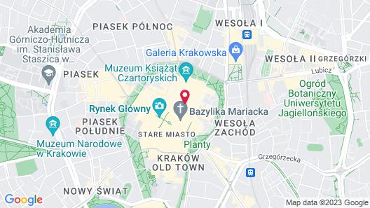 Hotel Pod Roza Map