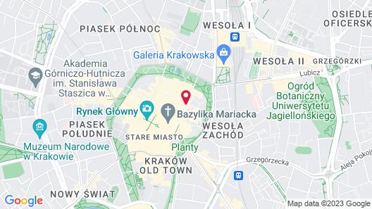 Hotel Elektor Map