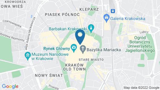 Fragola Apartments Old Town Map