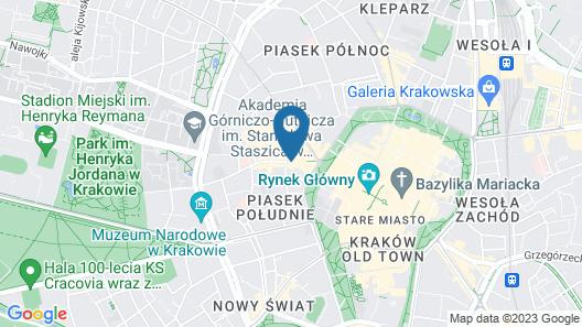 Krupnicza Premium Apartments Map