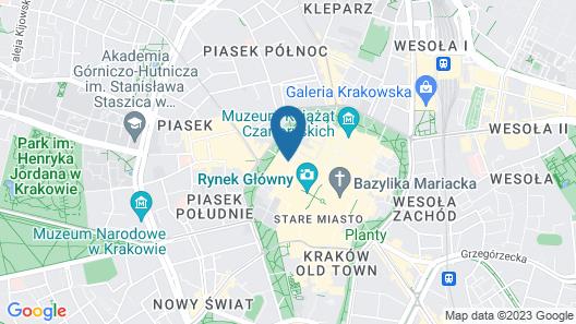 Antique Apartments - Plac Szczepanski Map
