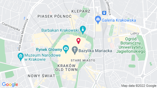 P&J Apartments Map