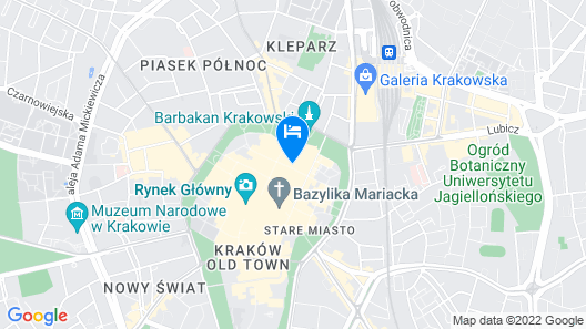 Hotel Unicus Palace Map
