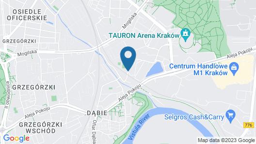 Hampton by Hilton Krakow Map