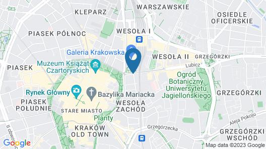 Hotel Europejski Map
