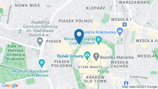 Benedict Hostel Map