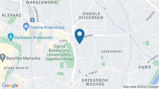 Vienna House Easy Cracow Map