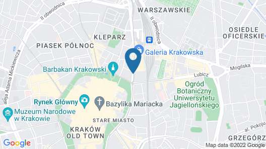 Vienna House Andel's Cracow Map