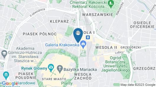 Princess Apartments Map