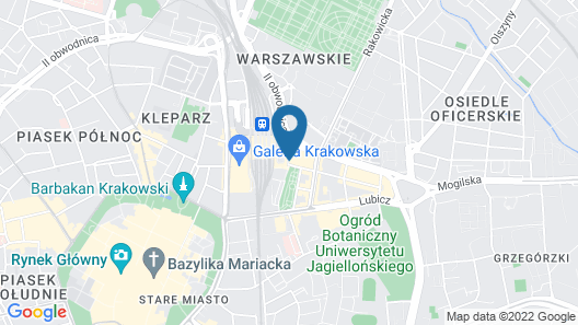 Station Aparthotel Map