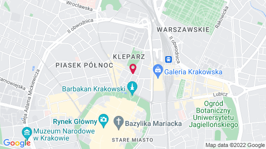 Hotel Indigo Krakow - Old Town, an IHG Hotel Map