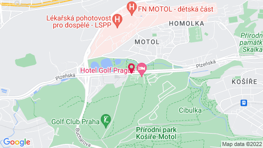 Hotel Golf Map