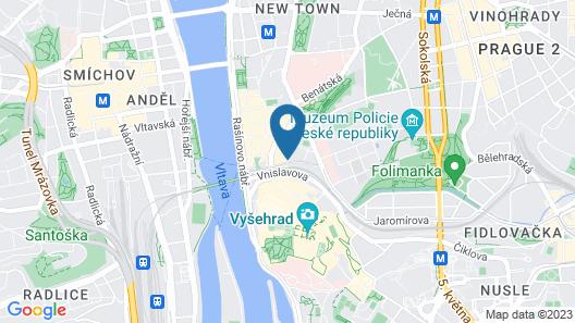 Hermitage Hotel Prague Map