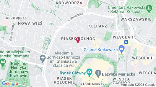 Yourplace Biskupia Aparthotel Map