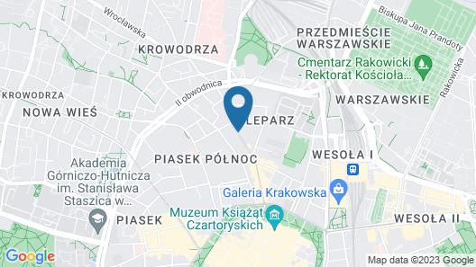 Hotel Lavender Map