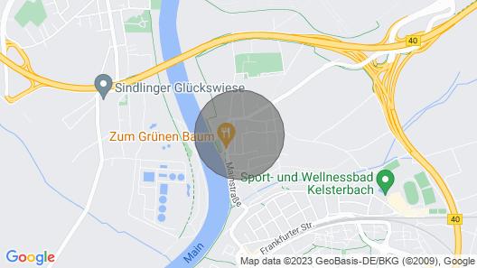 ★★★★Studio Apartment, near Frankfurt Airport Map