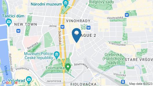 Hotel Galileo Prague Map