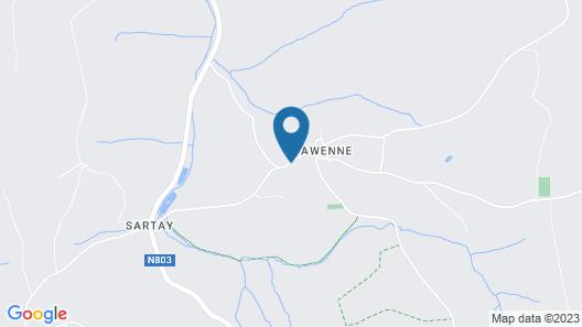 Auberge du Sabotier Map