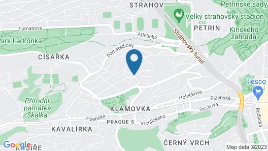 Wellness&SPA boutique Hotel pod Lipkami Map
