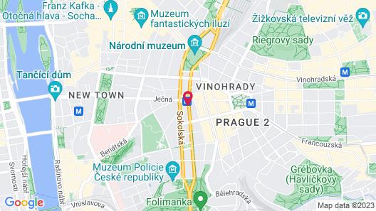 Alton Hotel Prague Map
