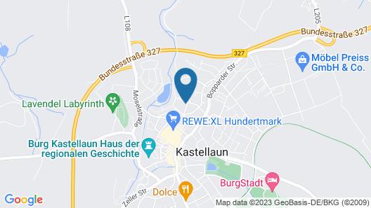 Hotel Zum Rehberg  Map