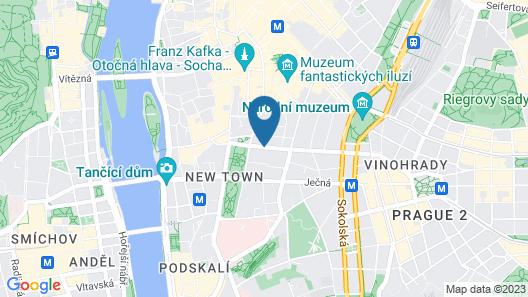 Radisson Blu Hotel, Prague Map
