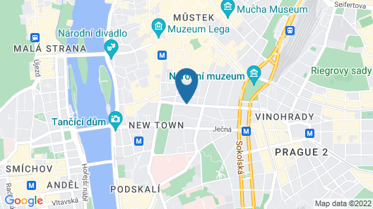 Hotel Suite Home Prague Map