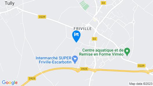Hôtel Athéna Friville Map