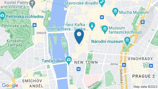 Hotel Pav Map