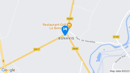 Ferme de Bonavis - Chambres d'Hôtes Map