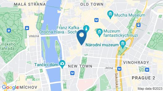 Hotel Garden Court Map