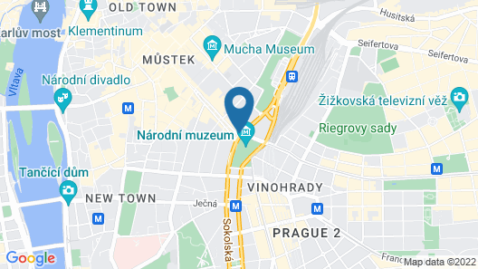 Occidental Praha Wilson Map