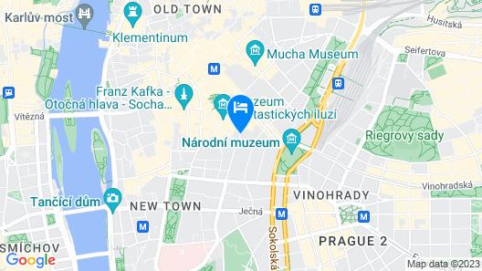 Alcron Hotel Prague Map